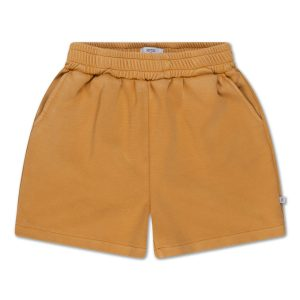 Repose AMS  - SWEAT SHORT GOLDEN SAND - Clothing