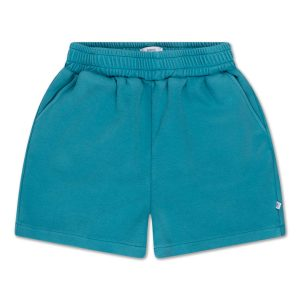 Repose AMS  - SWEAT SHORT WATER BLUE - Clothing