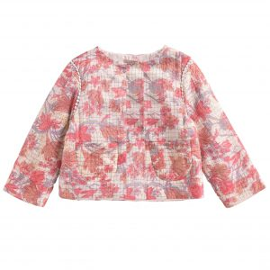 Louise Misha  - JACKET SOLUTA PINK FLOWERS - Clothing