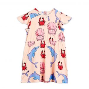 Mini Rodini  - DOLPHIN DRESS - Clothing