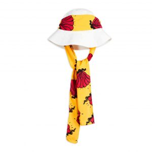 Mini Rodini  - SHELL SUN HAT OFFWHITE - Accessories