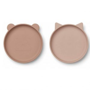 Liewood  - OLIVIA PLATE - 2 PACK ROSE MIX - Homeware