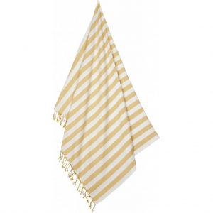 Liewood  - MONA BEACH TOWEL YELLOW MELLOW STRIPE - Homeware