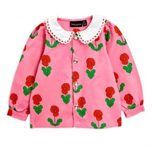 Mini Rodini  - VIOLAS BLOUSE PINK - Clothing