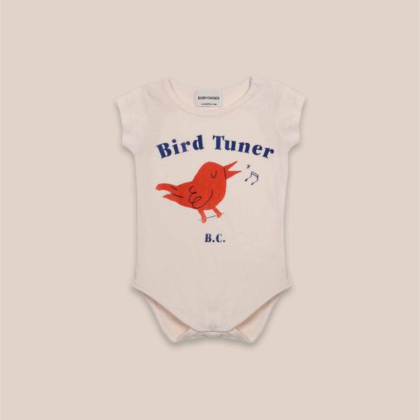 Bobo Choses  - BIRD TUNER SHORT SLEEVE BODY - Clothing