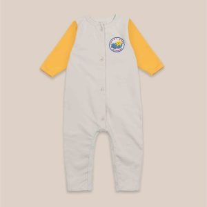 Bobo Choses  - LUCKY STAR PATCH FLEECE OVERALL - Clothing