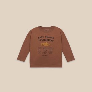 Bobo Choses  - LOST THING RECOLLECTOR LONG SLEEVE T-SHIRT - Clothing