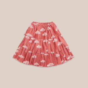 Bobo Choses  - CLOUDS ALL OVER WOVEN SKIRT - Clothing