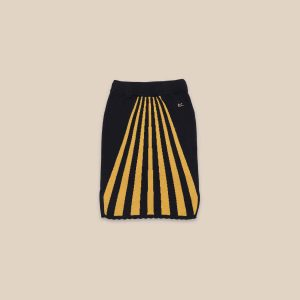 Bobo Choses  - STRIPES KNITTED SKIRT - Clothing