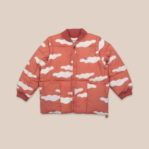 Bobo Choses  - CLOUDS ALL OVER PADDED JACKET - Clothing