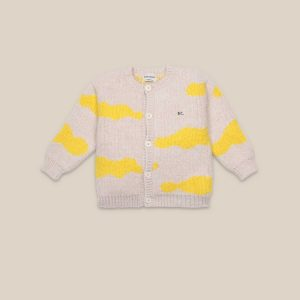 Bobo Choses  - CLOUDS ALL OVER CARDIGAN - Clothing