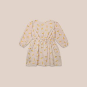 Bobo Choses  - HAND ALL OVER WOVEN DRESS - Clothing