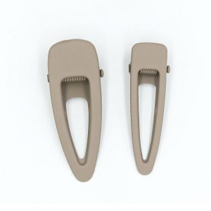 Grech & Co.  - MATTE CLIPS SET OF 2- STONE - Accessories