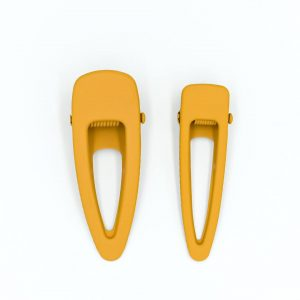 Grech & Co.  - MATTE CLIPS SET OF 2- GOLDEN - Accessories