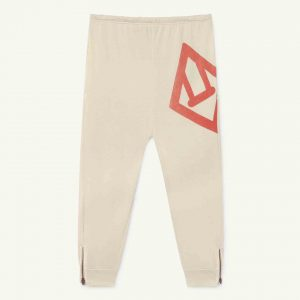 The Animals Observatory  - PANTHER KIDS TROUSERS WHITE LOGO - Clothing
