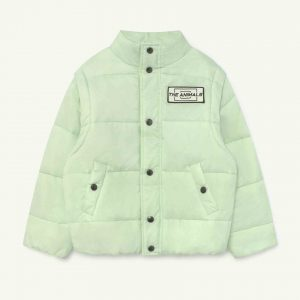 The Animals Observatory  - LEMUR KIDS JACKET MINT THE ANIMALS - Clothing