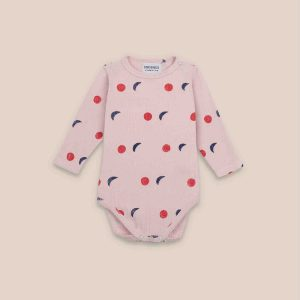 Bobo Choses  - NIGHT ALL OVER LONG SLEEVE BODY - Clothing