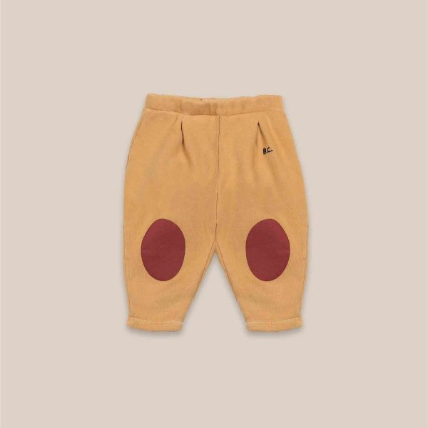 Bobo Choses  - RED PATCHES JOGGING PANTS - Clothing