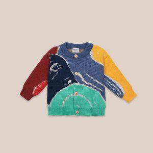 Bobo Choses  - MULTICOLOR ABSTRACTIONS CARDIGAN - Clothing