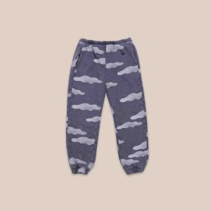 Bobo Choses  - CLOUDS ALL OVER JOGGING PANTS - Clothing