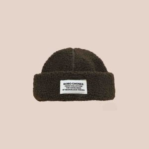 Bobo Choses  - PATCH SHEEPSKIN HAT - Accessories