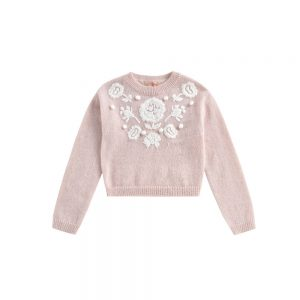 Louise Misha  - JUMPER MOLAM BLUSH - Clothing