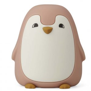 Liewood  - DITLEV NIGHT LIGHT PENGUIN DARK ROSE - Homeware
