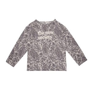The New Society  - PARIS  SWEATER PAISLEY - Clothing
