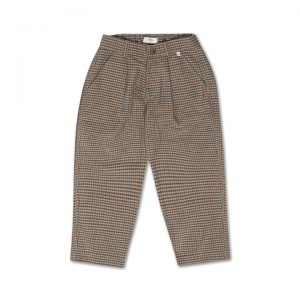 Repose AMS  - CHINO PANTS MULTI CHECK - Clothing
