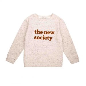 The New Society  - THE NEW SOCIETY SWEATER NATURAL - Clothing
