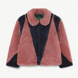 The Animals Observatory  - SHREW KIDS JACKET BLUE - Clothing