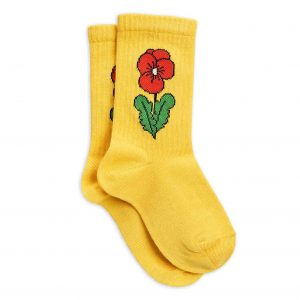 Mini Rodini  - VIOLA SOCKS YELLOW - Clothing