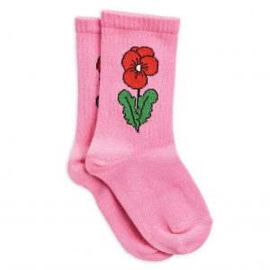 Mini Rodini  - VIOLA SOCKS PINK - Clothing