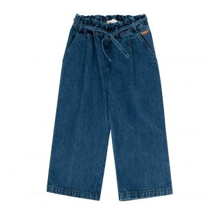Tinycottons  - DENIM WIDE PANT DENIM - Clothing