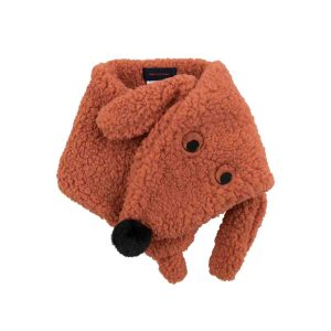 Tinycottons  - TINY DOG SHERPA SCARF SIENNA - Accessories