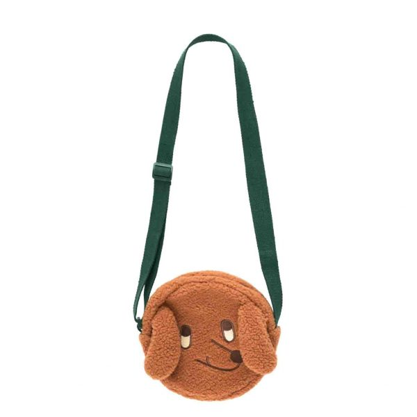 Tinycottons  - TINY DOG SHERPA BAG BROWN - Accessories