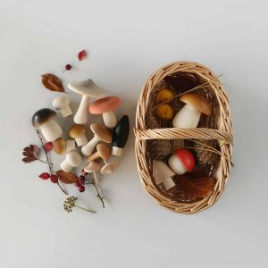 Moon Picnic  - FOREST MUSHROOM BASKET - LIGHT - Toys