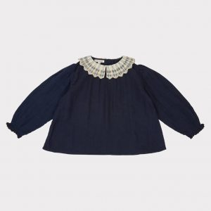 Caramel  - MALLARD BLOUSE DARK NAVY - Clothing