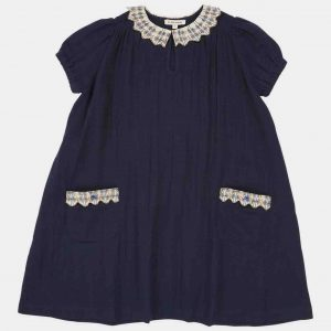 Caramel  - REDSHANK DRESS DARK NAVY - Clothing