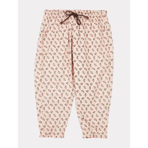 Caramel  - WOODPIDGEON TROUSERS PEACH SMALL FLORAL - Clothing