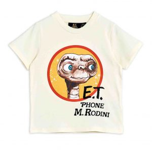 Mini Rodini  - E.T. T-SHIRT OFF WHITE - Clothing
