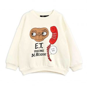 Mini Rodini  - E.T. SWEATSHIRT OFF WHITE - Clothing