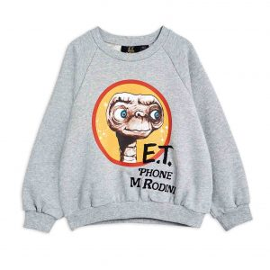 Mini Rodini  - E.T. SWEATSHIRT GREY MELANGE - Clothing