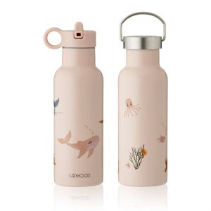 Liewood  - NEO WATER BOTTLE PANDA SEA CREATURE ROSE MIX - Homeware
