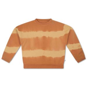 Repose AMS  - CREWNECK SWEATER FUDGE MARBLE - Clothing