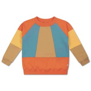 Repose AMS  - CLASSIC SWEATER COLOR BLOCK - Clothing