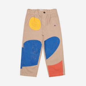 Bobo Choses  - LANDSCAPE CHINO PANTS - Clothing