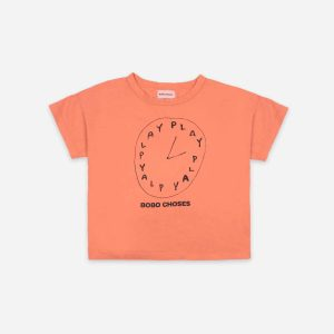 Bobo Choses  - PLAYTIME SHORT SLEEVE T-SHIRT - Clothing
