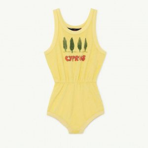 The Animals Observatory  - SQUIRREL KIDS BODY SOFT YELLOW CYPRUS - Clothing