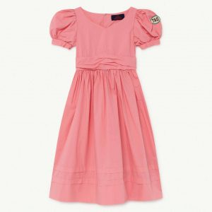 The Animals Observatory  - PEACOCK KIDS DRESS PINK TAO - Clothing